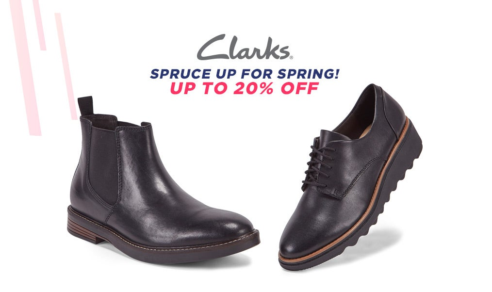 Clarks - Casual Boots & Shoes