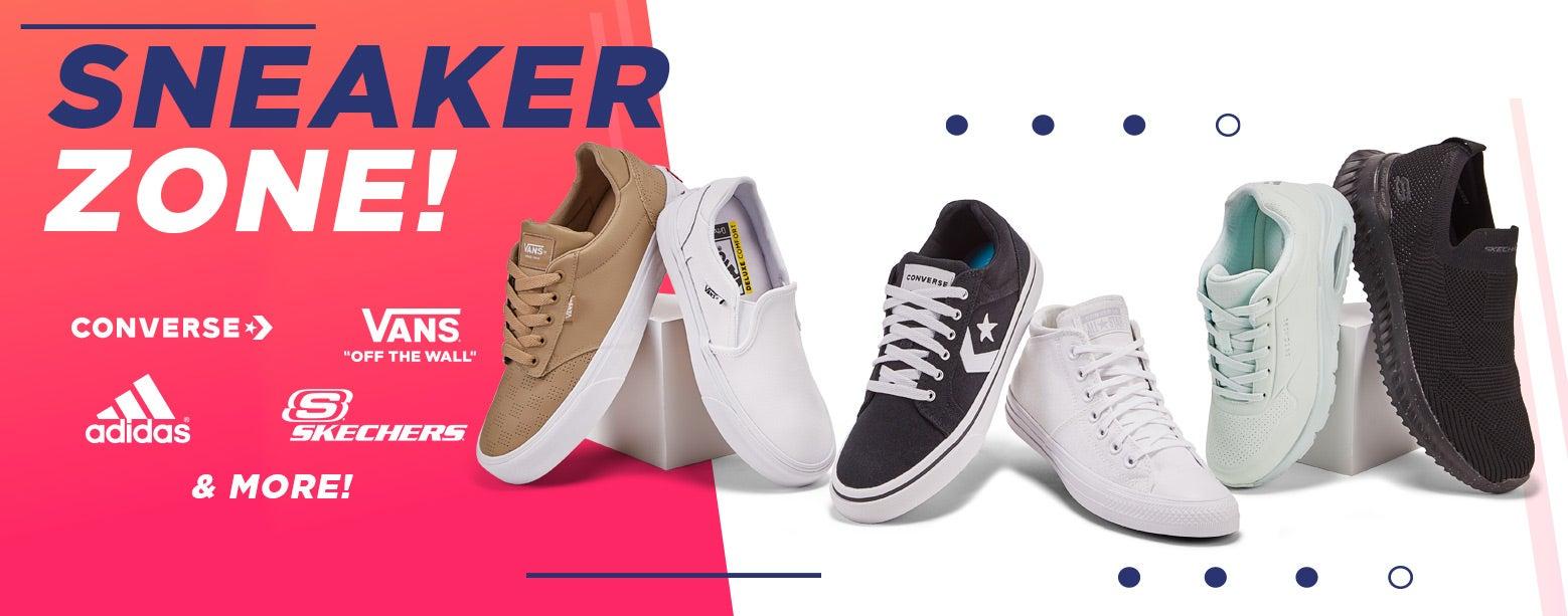 Sneaker Zone! Converse, Vans, Adidas & More!
