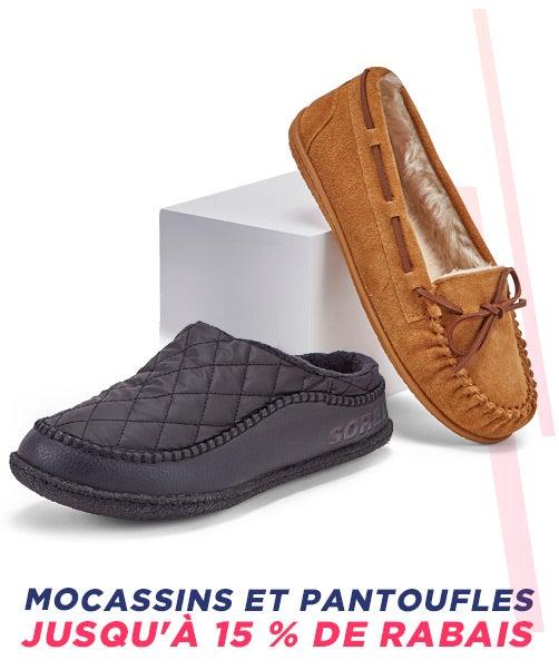 Mocassins et pantoufles