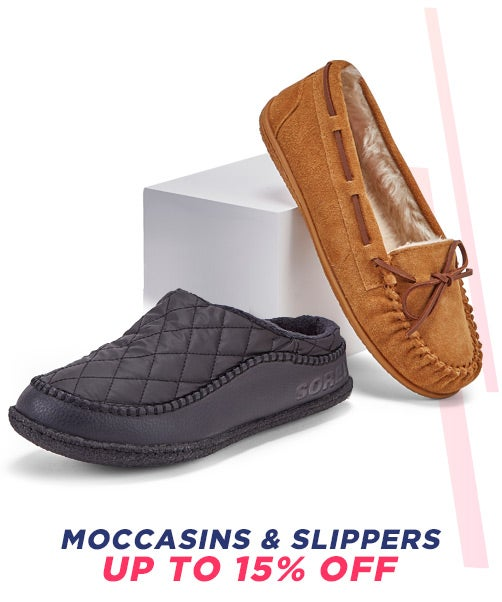 Moccasins & Slippers