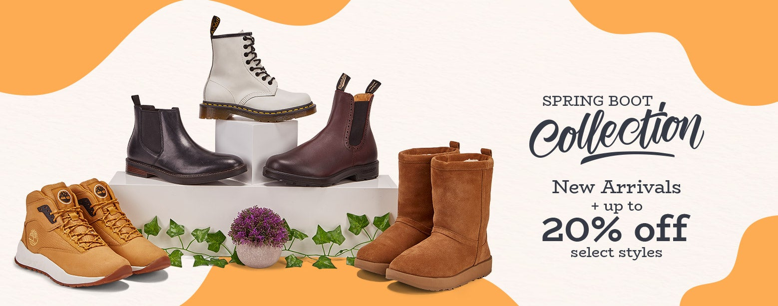 Spring Boot Collection! New Arrivals + Up to 20% Off select styles