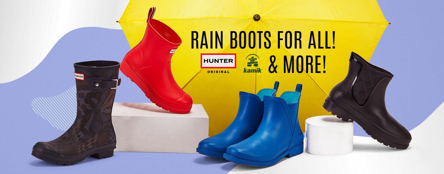 Rain Boots for ALL! Hunter, Kamik & More!