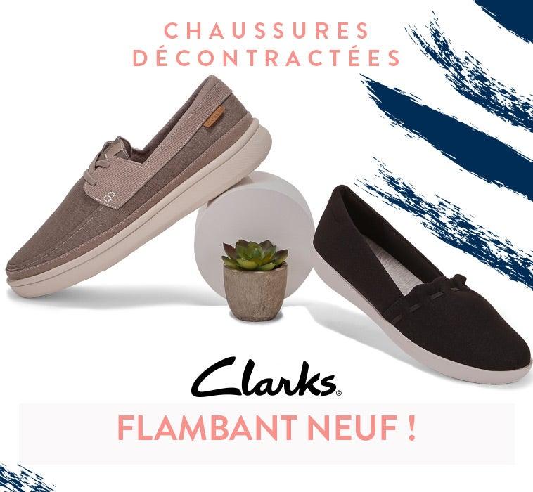 Clarks - Chaussures et sandales décontractées