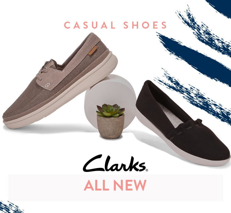 Clarks - Casual Shoes & Sandals