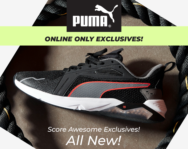 Puma - Online Only Exclusives!