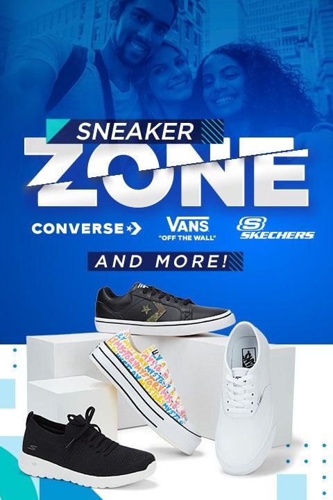 Sneaker ZONE! Converse, Vans, Skechers & More!