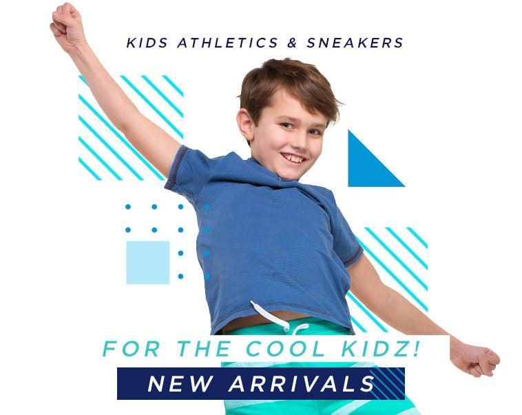 Kids Athletics & Sneakers