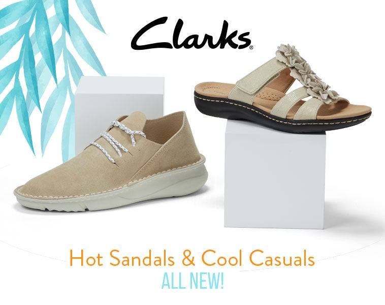 Clarks - Sandals & Casual Shoes