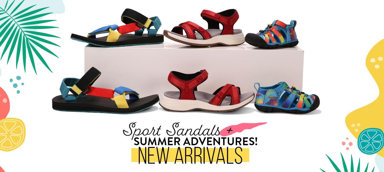 Sport Sandals + Summer Adventures! New Arrivals