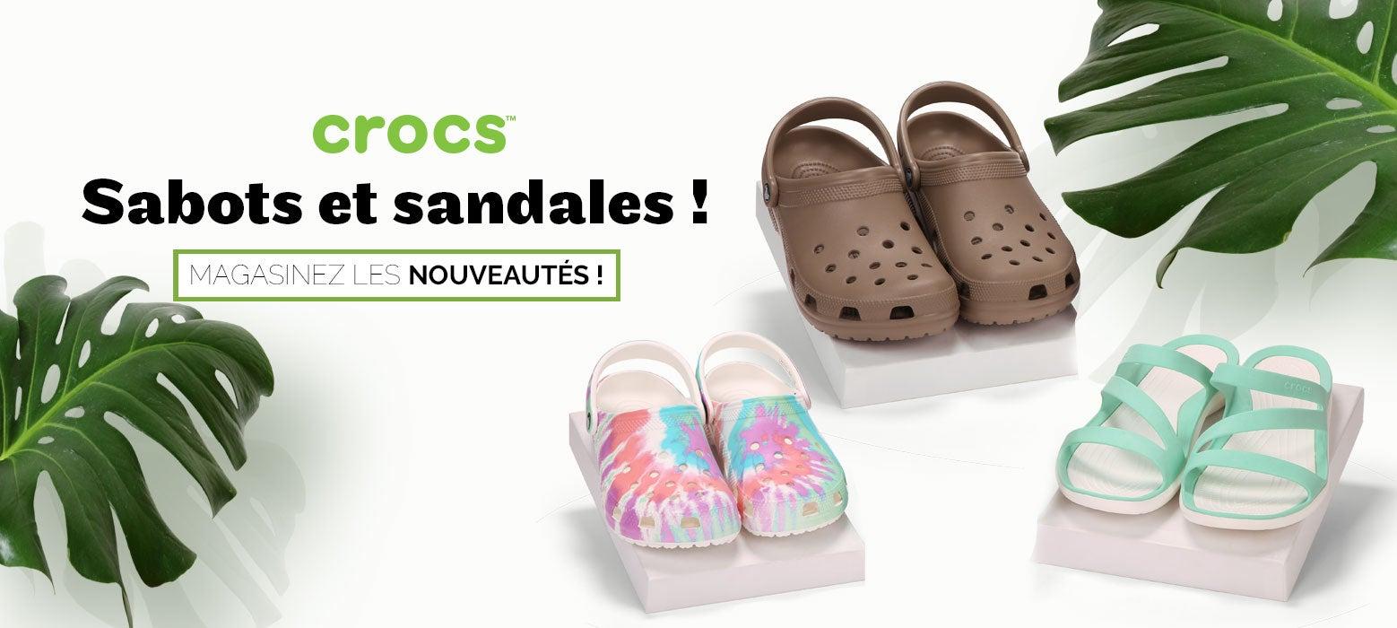 Crocs - Sabots et sandales ! Magasinez les nouveautés !
