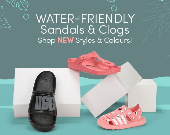 Water-Friendly Sandals & Clogs - Shop New Styles & Colours!