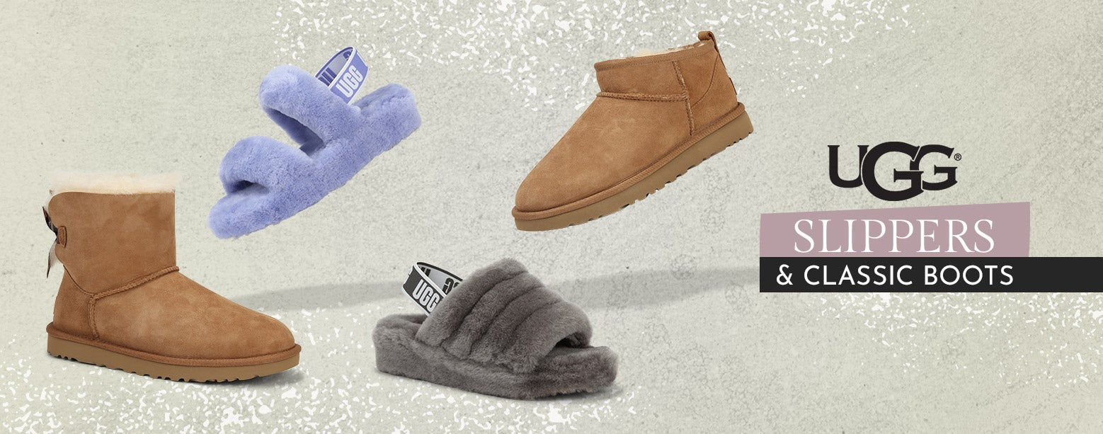 UGG - Slippers & Classic Boots