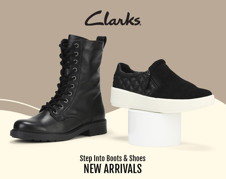Clarks - Boots & Shoes