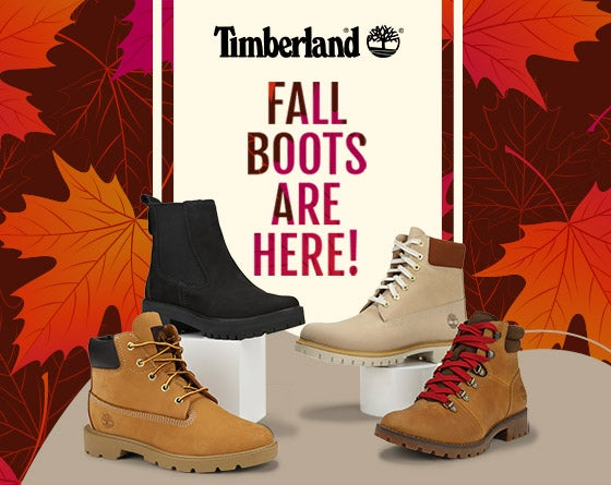 Timberland - Fall Boots are IN!