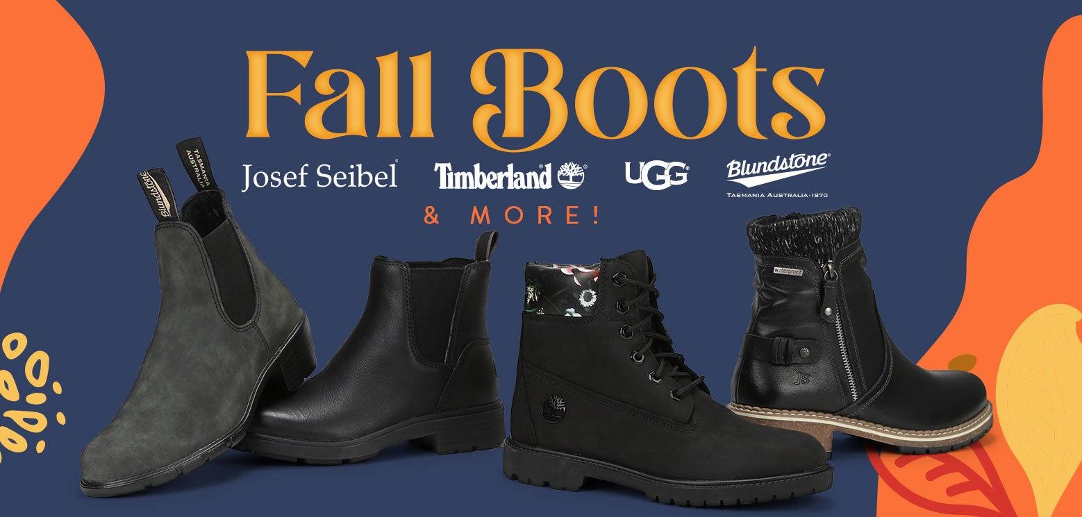 Fall Boots! Josef Seibel, Timberland, UGG, Blundstone & More!